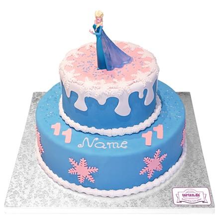 Torte Mit Disney Elsa Figur Online Bestellen Torten De
