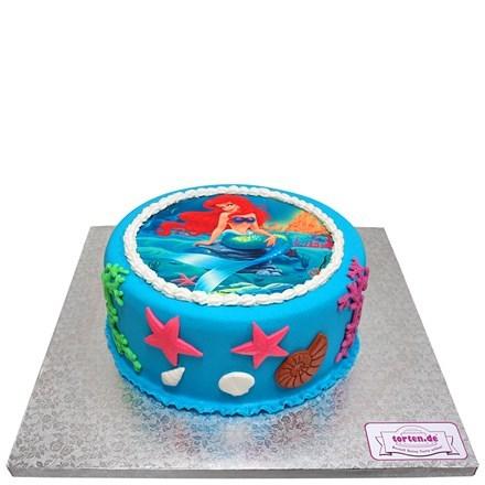 Torte Mit Arielle Motiv