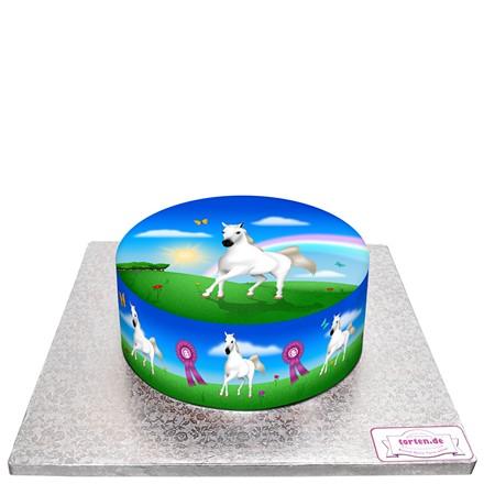 Torte für Pferde-Prinzessinnen