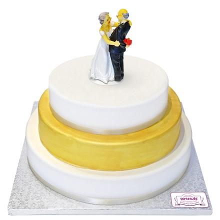Hochzeit diamantene torte für Hochzeitstorte zur